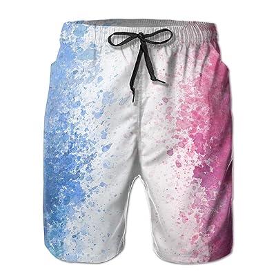 Spot Blue White RedHandsome Fashion Summer Cool Shorts Swimming Trunks Beachwear Beach Shorts