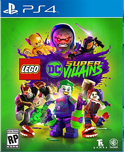 61izMf%2BlAeL - LEGO DC Supervillains - PlayStation 4