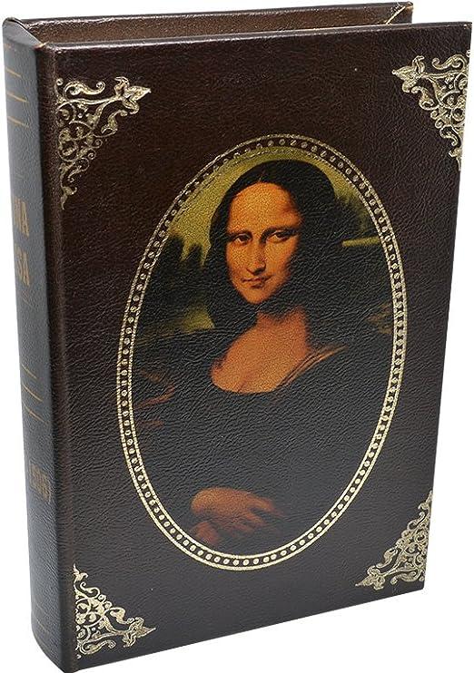 Momparler1870 Caja fuerte libro con llave Mona Lisa: Amazon.es: Hogar