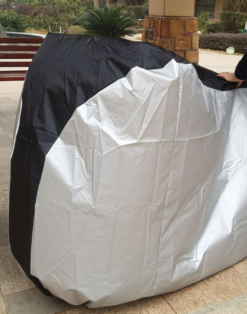 dikete® Motocicleta Funda–resistente al agua a prueba de polvo lluvia protección UV–resistente