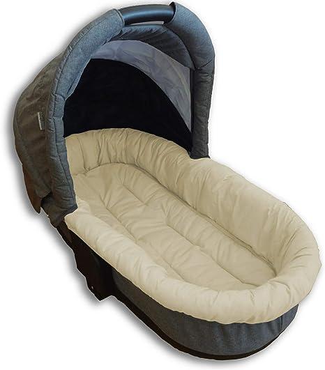 Colchoneta para capazo, asiento recto, capazo, cochecito de bebé: Amazon.es: Bebé