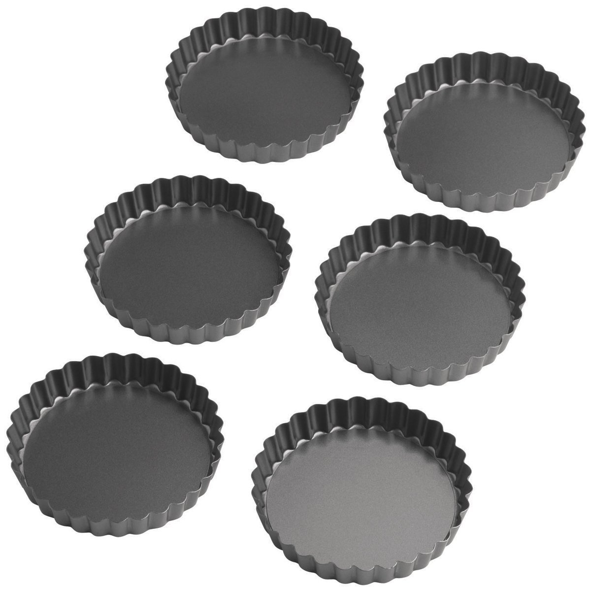 Wilton Perfect Results 4.75 Inch Round Tart/Quiche Pan, Set of 6 by Wilton (Image #4)