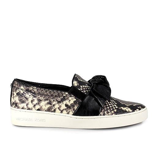 ab137fb0c7e Michael Kors Willa Black/Python Slip On Woman Sneaker FW MK Shoes 2017:  Amazon.ca: Shoes & Handbags