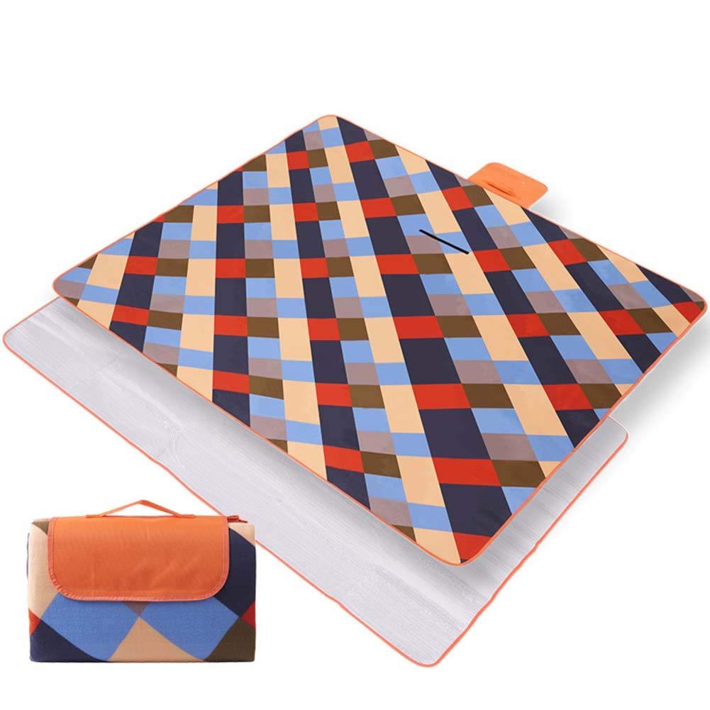 DADAO Extra Large Picnic Blanket 79x79,Padded Waterproof Picnic Mat/Beach Mat Sand Free/Picnic Outdoor Camping Beach Blanket Mat,1,200x200cm