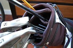 Amazon Com Palm Springs Sunday Golf Bag W Stand White