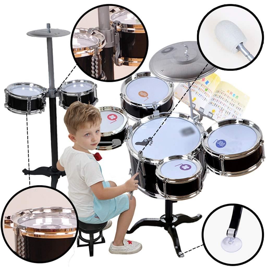 Amazon com: DUWEN Drum Kit Child Jazz Drum Musical Toy Percussion
