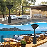 NASUM Stand-up Patio Heater Cover, 600D Heavy