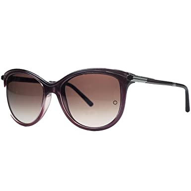 Amazon.com: Montblanc MB471/S 71T Purple Cateye anteojos De ...