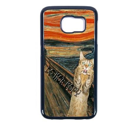 Amazon.com: Gato Collage Samsung gato Collage S4 funda ...