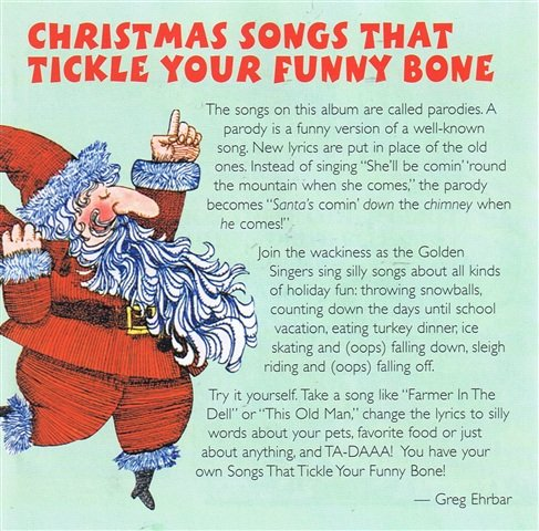 golden orchestra xmas songs that tickle your funny bone amazoncom music - Funny Christmas Songs Lyrics