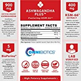 Ashwagandha Organic Capsules Clinical Strength 1300