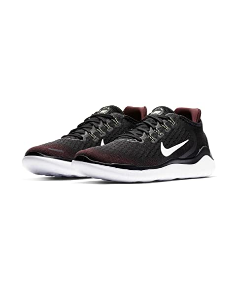 newest 7ad3b 630c4 Nike Free RN 2018, Scarpe da Atletica Leggera Uomo, Bordeaux Nero (Night