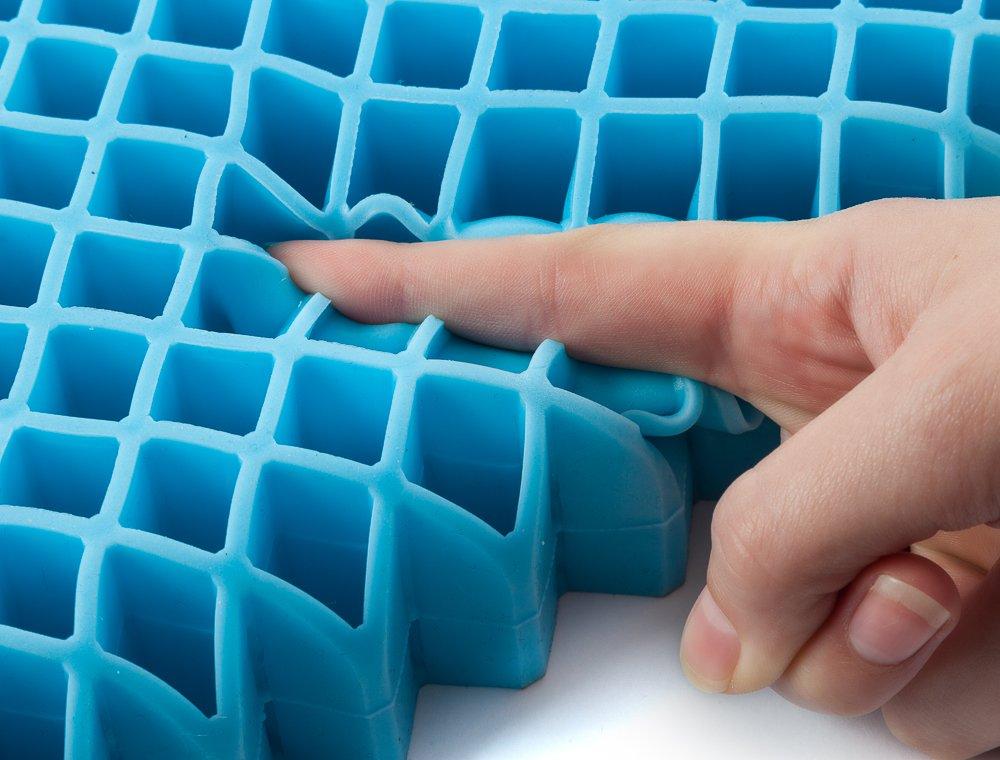 Amazon com  Miracle Cushion SUPREME Orthopedic Non liquid Gel High Comfort Seat  Cushion  Health   Personal CareAmazon com  Miracle Cushion SUPREME Orthopedic Non liquid Gel High  . Gel Chair Pads And Cushions. Home Design Ideas