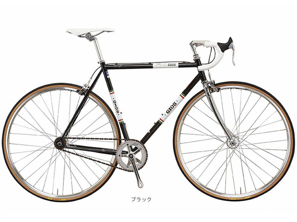 GIOS(ジオス) 2018 VINTAGE PISTA ヴィンテージピスタ シングルスピードバイク <ブラック> B078N9HZ9T500mm