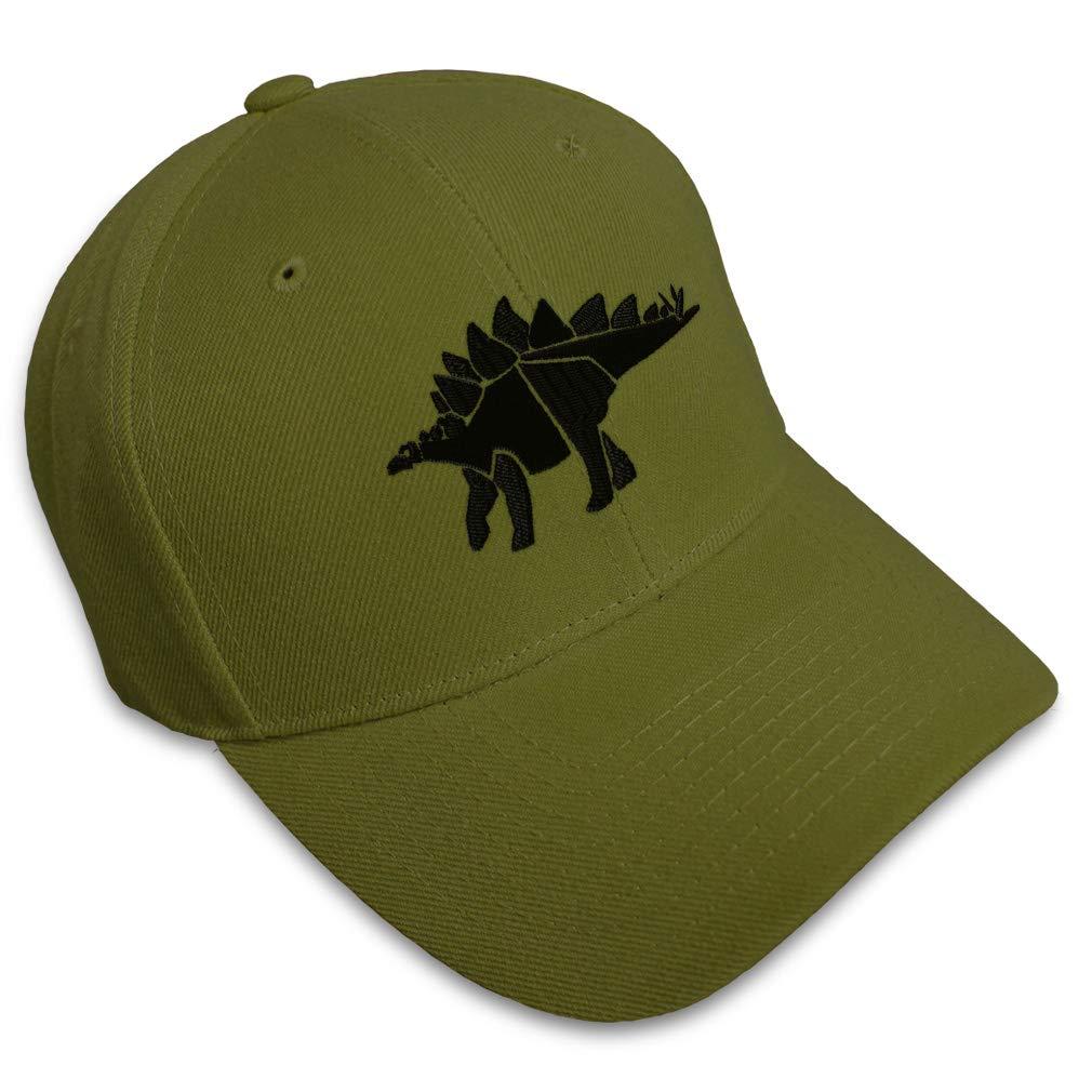 Custom Baseball Cap Stegosaurus Style A Embroidery Dad Hats for Men /& Women