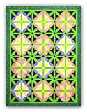 Melon Blossom Batik Quilt Kit - Black Friday Pricing Now!