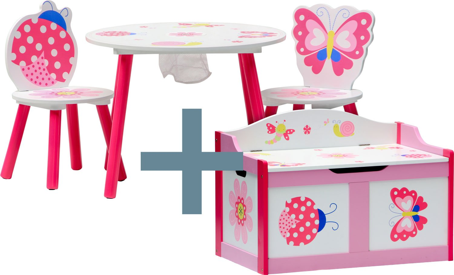 IB-Style - Children's seating area Papillon |Toybox | bench nursery furniture kids
