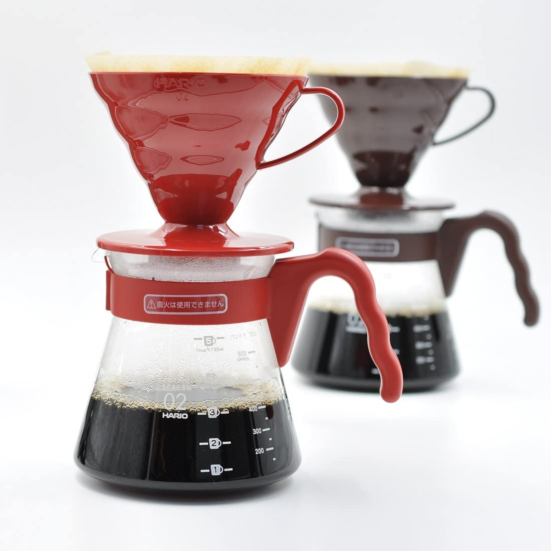 Japan Import Hario V60 Coffee Server 02 Set R VCSD-02R