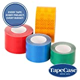 3M 3435 Blue Reflective Tape Roll - 4.72 in. x 150