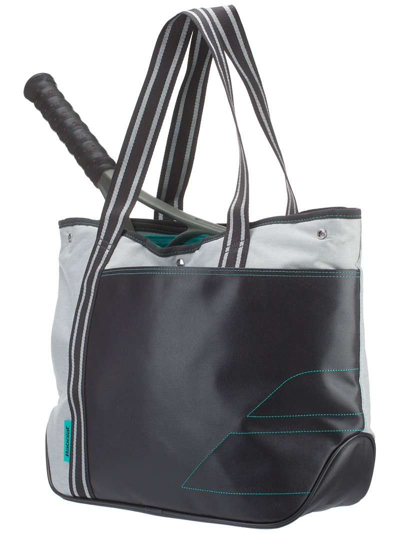 Babolat Unisex's Tote Tennis Bag, Grey/Green, One Size