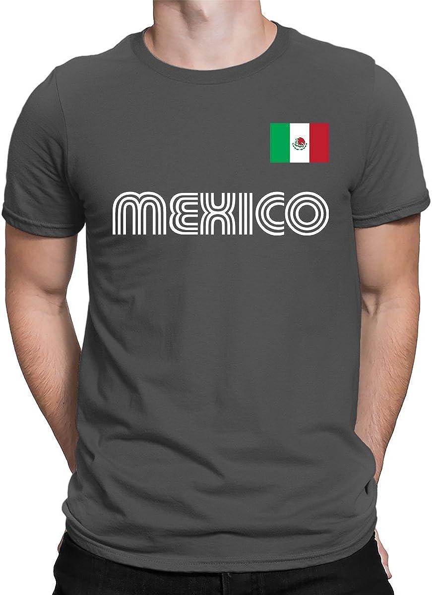 SpiritForged Apparel Mexico Soccer Jersey Men's T-Shirt