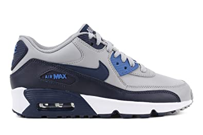 5a1fd5e4e1 Amazon.com | Nike Air Max 90 LTR (GS) Big Kids Shoes Wolf Grey ...