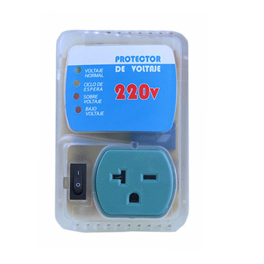 3300 Watts Brownout Surge Voltage Protector 220V for Air Conditioner, Refrigerator