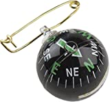 Allen Liquid-Filled Ball Compass with Pin