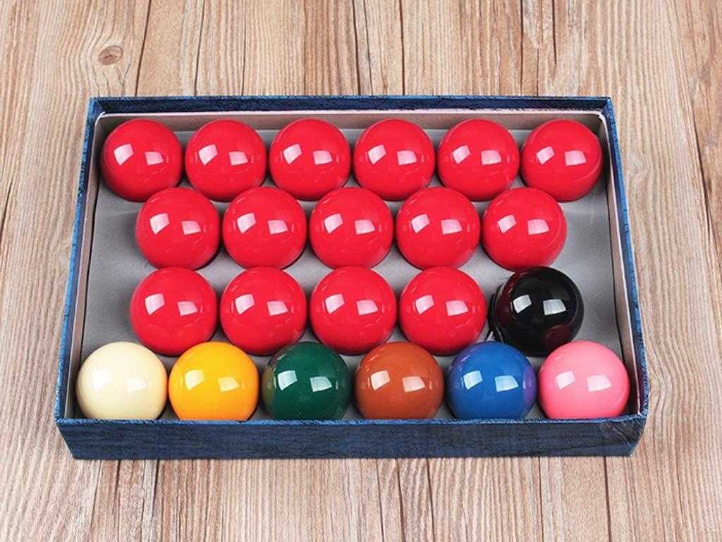 WXS Snooker Bolas de Billar, 2 1/16 Pulgadas Juego de Bolas de mesa-22 Bolas de Piscina: Amazon.es: Deportes y aire libre