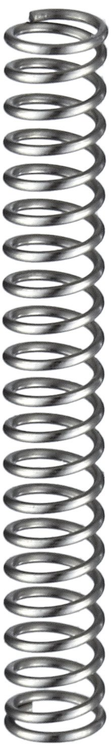 Compression Spring Stainless Steel Metric 3.6 mm OD 0.4 mm Wire Size 3.91 mm Compressed Length 8.3 mm Free Length 5.29 N Load Capacity 1.21 N mm Spring Rate Pack of 10