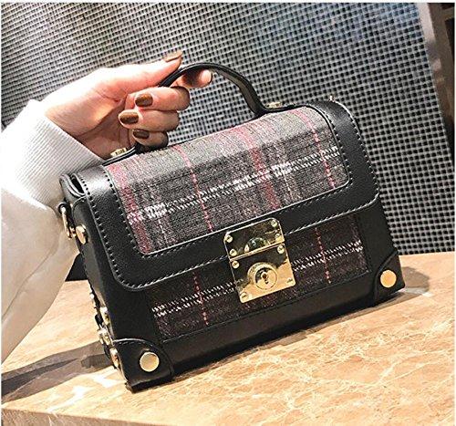 Bolso Desgaste Match Bolso De Todos Impermeable Fashion Solo Bolsa Square Meaeo Ladies Bolso qUOtSTwxpn