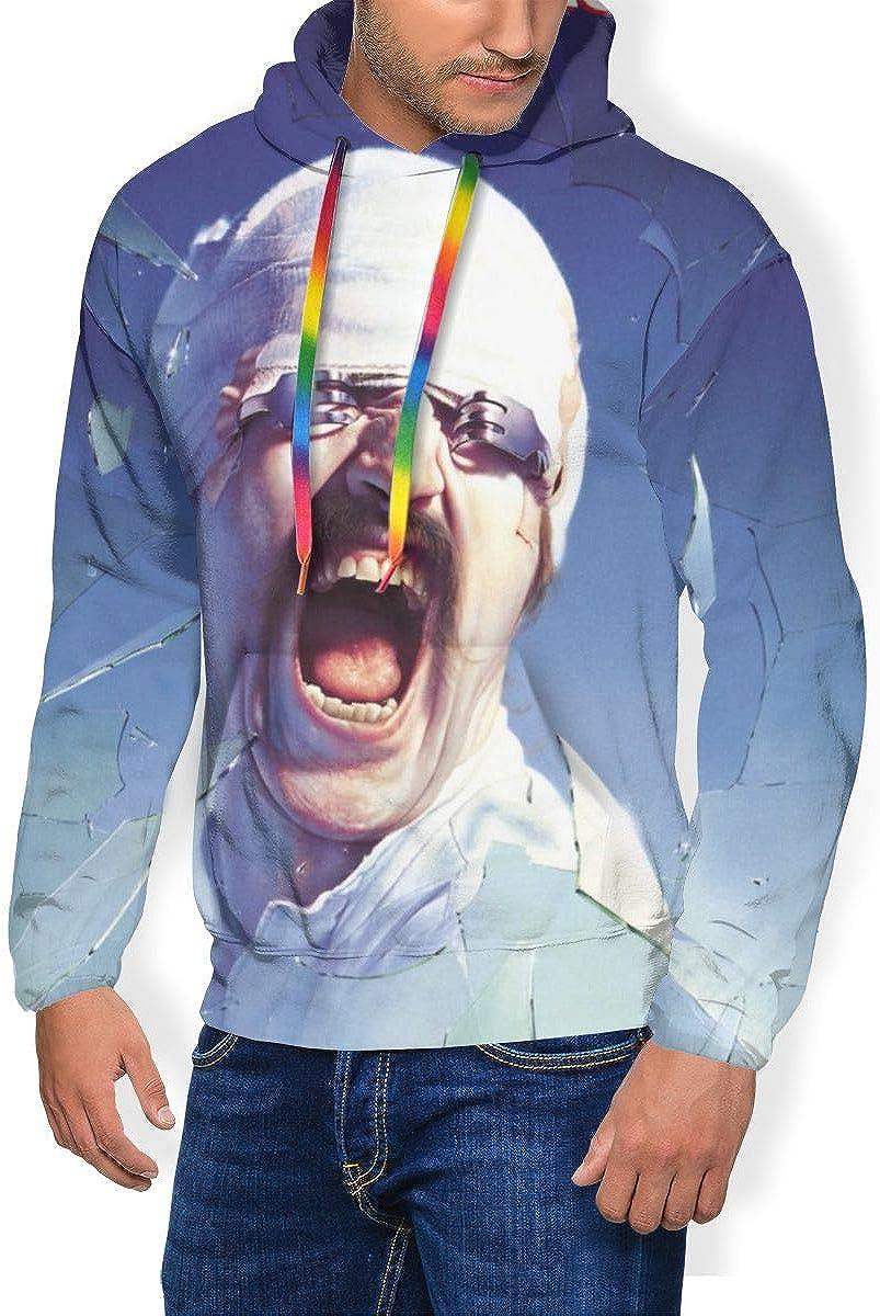 Scorpions Blackout Men Long Sleeve Personality Jacket Hoodie Sweatshirt Plus Velvet Black