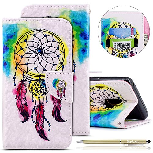 Leather Leather 3D Printed S9 Herbests Galaxy Slim for S9 Samsung Shockproof Butterfly Case Galaxy Panda Thin Flip Animal Case Samsung Samsung Galaxy Ultra Cove Pattern Flip S9 Case Wallet Campanula Flower Case rWqFaZr