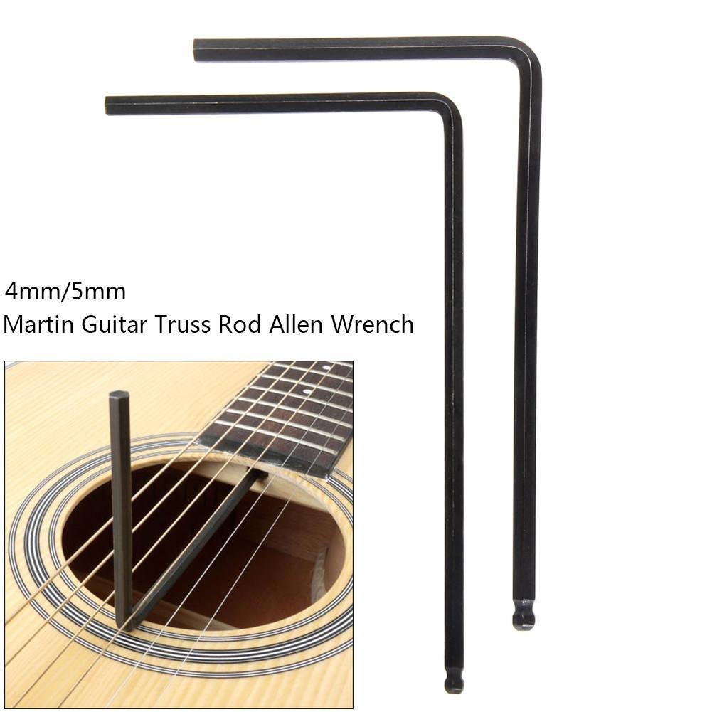 5mm Ball Ende Gitarre Truss Rod Tool Inbusschlüssel für Martins Akustikgitarre