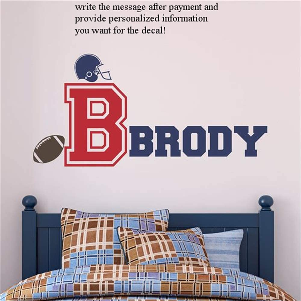 Football Boys Bedroom Nursery Kids Wall Art Decal Vinyl