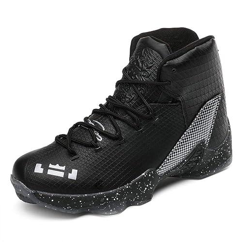 5703e6a2d3 IDNG Zapatillas Baloncesto Zapatos De Baloncesto Unisex Zapatillas De  Deporte para Hombre Botas Altas Botines Al Aire Libre Zapatos Deportivos  para Hombre: ...