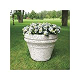 Wausau Tile - TF4042W22 - Planter, Round, 36in.Lx36in.Wx29in.H