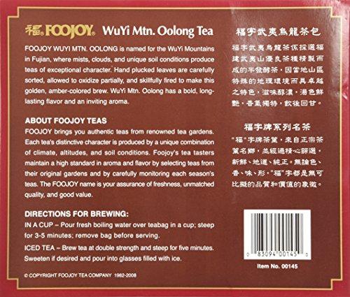 Wu Yi Oolong Tea Wulong Tea 100 Bags Foojoy by Wu Yi Oolong Tea (Image #7)