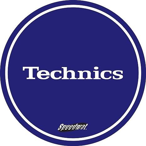 Technics - Patinador para tocadiscos (1 par), color azul y blanco ...