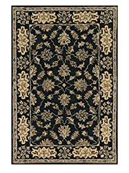 Loloi Rugs FAIRHFF01CC005076 Fairfield Collection 100-Percent Wool Area Rug, 5-Feet by 7-Feet to 6-Inch, Charcoal