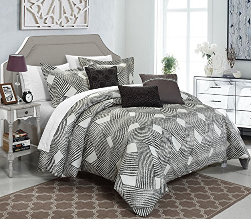 Chic Home 10 Piece Fiorella NEW LUXURY JACQUARD COLLECTION..