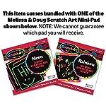 Melissa & Doug Crazy Animals: Make-a-Face Sticker Pad + Free Scratch Art Mini-Pad Bundle [86059]