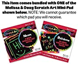 Flower Garden Fairy: Peel & Press Sticker By Number Series + FREE Melissa & Doug Scratch Art Mini-Pad Bundle [42994]