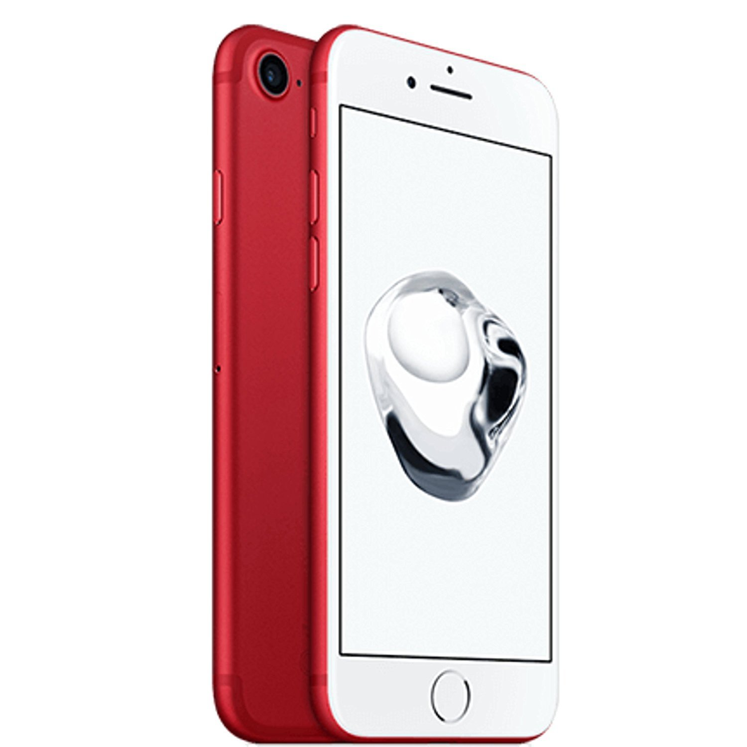 Apple iPhone 7, AT&T, 128GB - Red (Renewed) by Apple