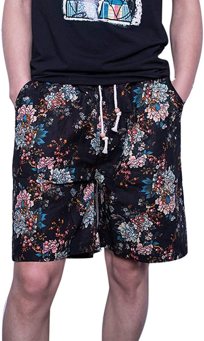 Palarn Sports Pants Casual Cargo Shorts Mens New Summer Outdoors Casual Loose Plus Size Patchwork Overalls Shorts Pants