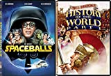 The History of the World + Spaceballs DVD Mel Brooks Comedy Spoof Double Feature Set