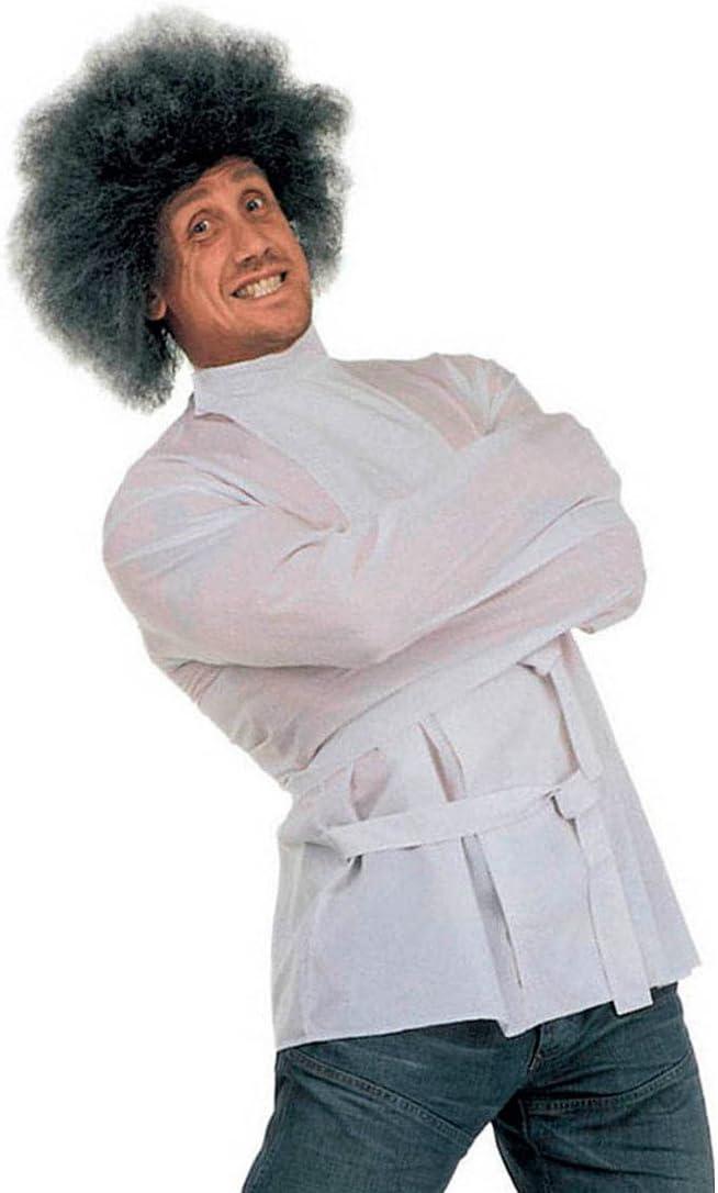 XL 58//60 NET TOYS Psicopatico Travestimento Camicia di Forza Bianca Folle Giacca restrittiva Prigioniero Pazzo squilibrato