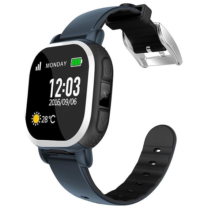 Smartwatch Niño, Tencent SIM Reloj Inteligente Niños con GPS Tracker Anti-lost Smartwatch Para Niños Relojes de Pulsera Kids Electrónicos Juguetes ...