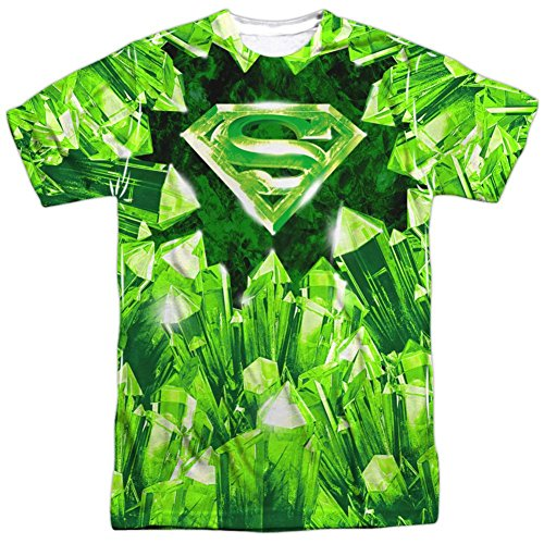 Superman- Kryptonite Shield T-Shirt Size XXL