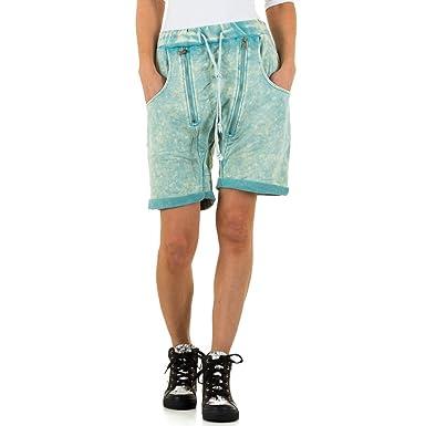 es Ital 42Amazon Turquesa Design Corto Pantalón Para Mujer wP0n8ONkX